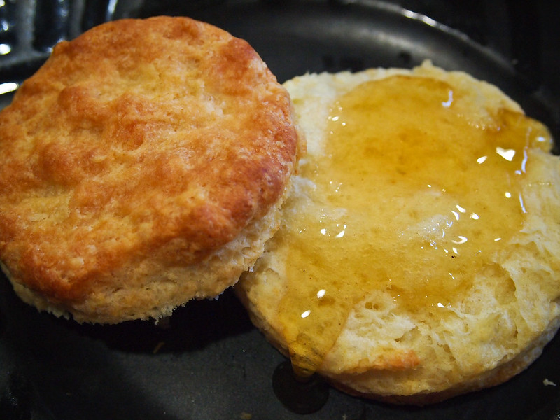 Biscuit with Peach Blossom Honey